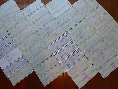 50 Delorean Motor Company Bank Checks