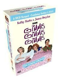 GIMME,GIMME,GIMEE Complete Series 1-3 SEALED/NEW DVD boxset