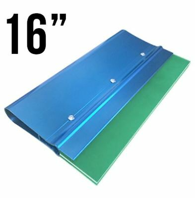 "Screenprinting squeegee handle with 70/90/70 Triple blade 16"" Anodized Aluminum"