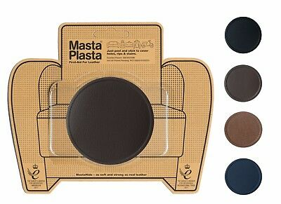 "MastaPlasta Self-Adhesive Leather Repair Patch 8x8cm 3x3"" Sofa Car Seat Bags"