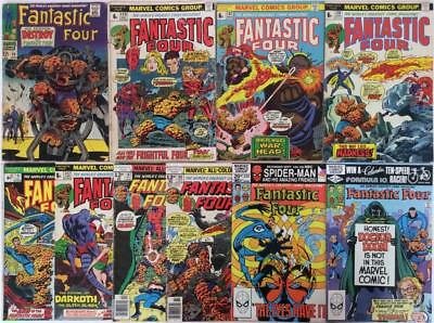 Fantastic Four Silver / Bronze Age job lot. 10 x classics from 1967 onwards.