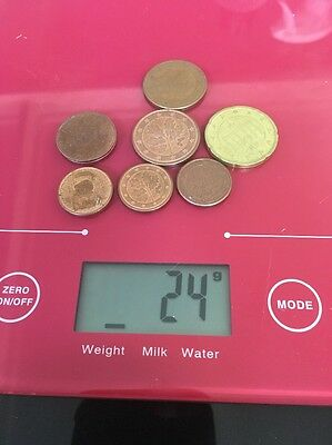 Euro Coins Mixed Lot Various Assorted