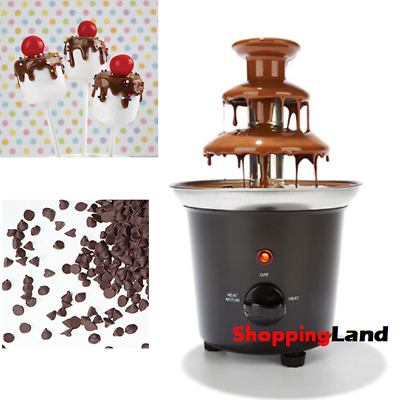 Chocolate Fountain 3 Tier Fondue Fountain Birthday Christmas Kids Party