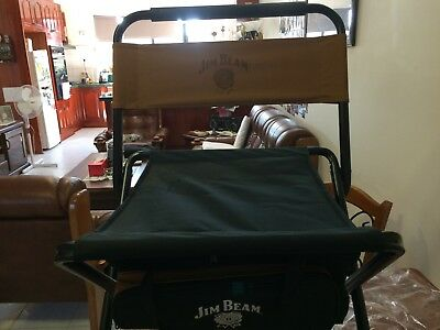 Jim Beam  Chair with Cooler