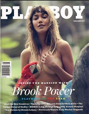 Playboy May/june 2017-Brook Power Pmoy-Factory Sealed