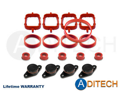 4x 22mm for bmw diesel swirl flap blanks repair with intake manifold 4 x 22 mm swirl flap blanks repair kit manifold with gaskets for bmw m47 fandeluxe Gallery
