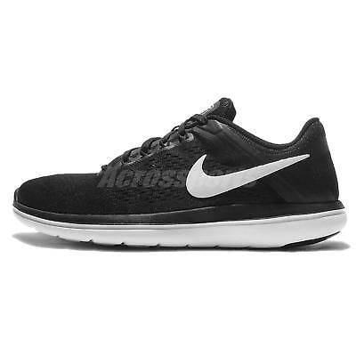 97dd85b8010a9 Wmns Nike Flex 2016 RN Run Black White Womens Running Shoes Sneakers  830751-001