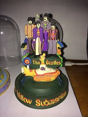 Beatles music globes, Franklin mint set of six