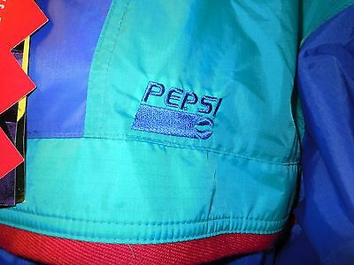 Rare Pepsi Sierra Sport Packable Jacket Size Med New With Tags Rn 65316