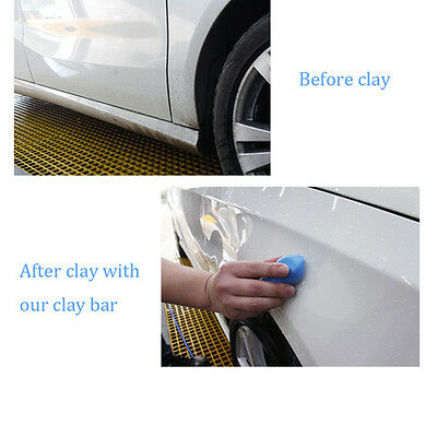 TOP 1/5Pcs 100g Magic Clay Bar Car Auto Cleaning Remove Detailing Wash Cleaner