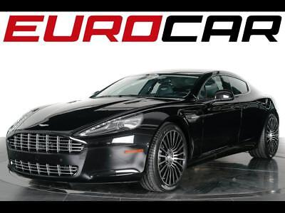 2012 Aston Martin Rapide Base Sedan 4-Door 2012 Aston Martin Rapide - Piano Black Interior Trim Pack, One Owner, Pristine!