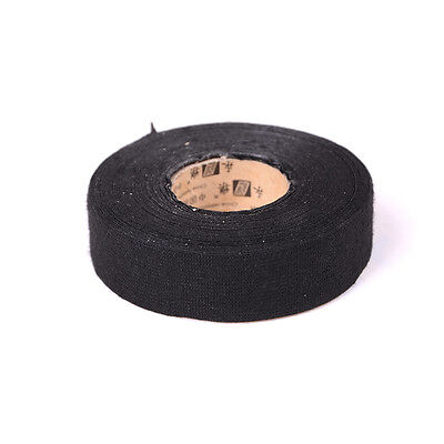 25mmx15m Adhesive Cloth Tape For Harness Wiring Loom Car Wire HarnessH