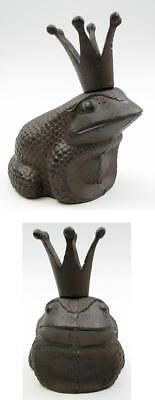 """Cast Iron King Frog, Brown, MPN: 0184S-0033"""