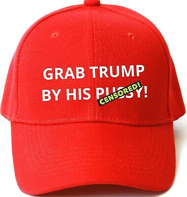 Funny Anti Trump MAKE AMERICA GREAT AGAIN HAT Trump Inspired PARODY EMBROIDERED