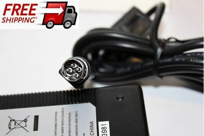 4 pin    24V  .4A     AC/DC adapter  Works for Many Products