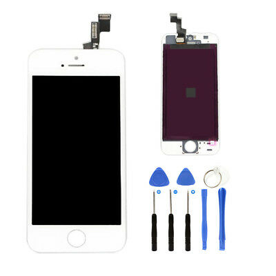 For iPhone5S LCD Touch Display Digitizer Assembly Screen Replacement White Black