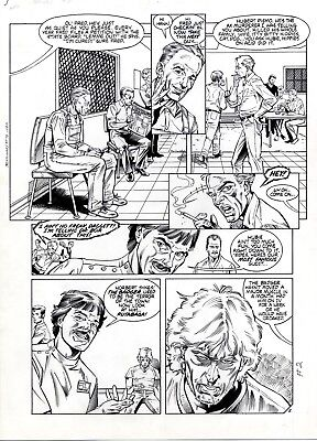 BADGER #8 p.2 by BILL REINHOLD First Comics 1985