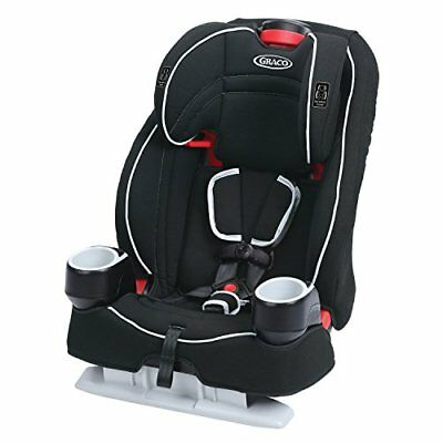 OPENED BOX Graco Atlas 65 2-in-1 Harness Booster Car Seat, Glacier