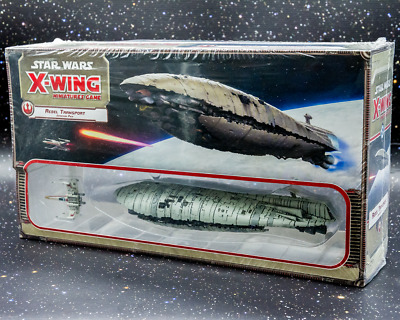 Star Wars X-Wing Miniatures Game Rebel Transport Expansion - New - Aus Stock