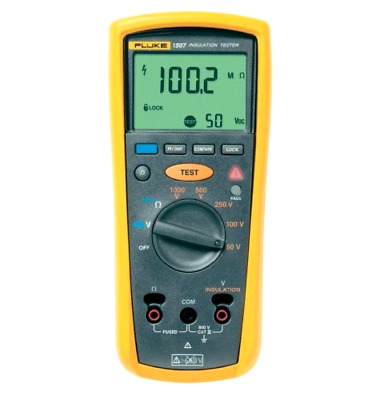 Digital Megohmmeter Fluke 1507 Standard Style Repetitive or Hard Reach Testing
