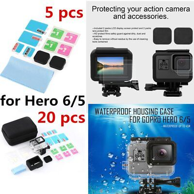 Camera Accessories Starter Kit for GoPro Hero 6/5 Outdoor Sport Camera Parts CC