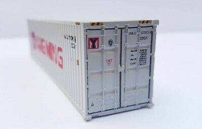 40 foot container HO scale YANG MING - NEW For you HO layout scenery