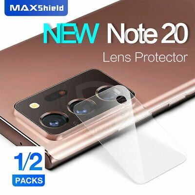 2X Samsung Galaxy Note 10 Plus 5G S9 8 Back Camera Lens Tempered Glass Protector