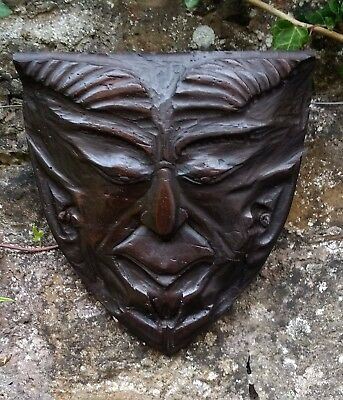 Rare 17Th Century English Walnut Carved Sculpture Of Pan