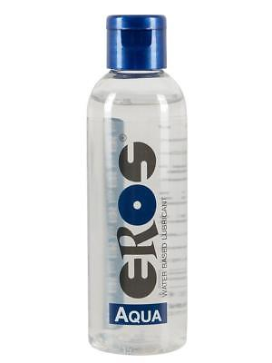 Eros Aqua 100 ml Water-based Lubricant (Bottle) scellé emballage d'origine GAY