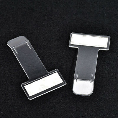 2PCS Car Vehicle Accessory Parking Ticket Permit Card Ticket Holder Clip Sticker
