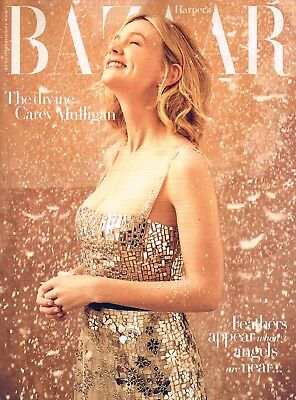HARPER'S BAZAAR UK 01/2018 Ltd Edit Christmas &New Year Iss CAREY MULLIGAN @New@