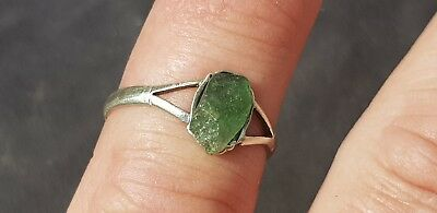 Very rare Genuine! Absolutely Exquisite Roman. Silver ladies finger ring. L7j