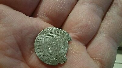 Selling as Unidentified rare? Medieval silver Hammered Coin  0.67g  22