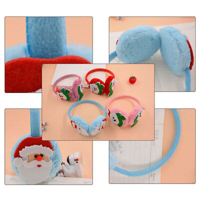 Ear Protector Earshield Ear Warmers Earmuffs Cartoon Colorful Plush Winter