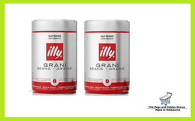 illy Coffee Whole Beans 250g x 2 tins