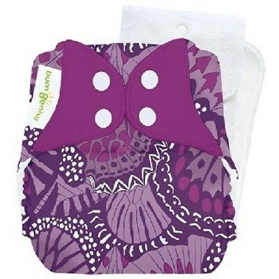 HTF! Limited Edition! NIP BumGenius 4.0 Pocket One-Size Cloth Diaper - Patch