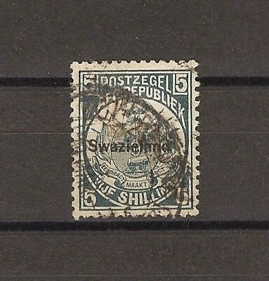 SWAZILAND 1898/90 SG 8 USED Cat £325