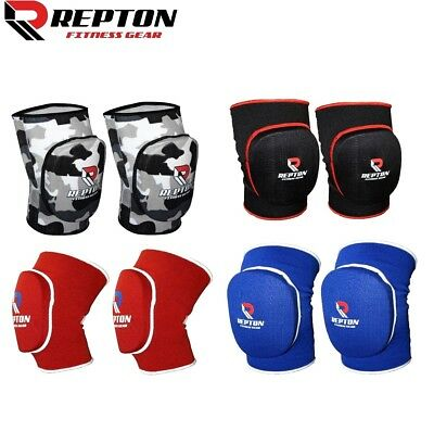 Elasticated Gel Padded Work Wear Knee Pad Protector Brace Support Heavy Duty MMA