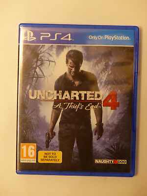 Uncharted 4: A Thief's End, Sony Playstation4, PS4