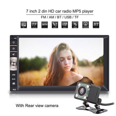Car Stereo Double Din Bluetooth Player Radio Mp5 7 Inch Hd Touch Screen In Dash