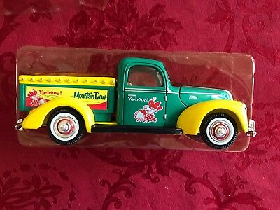 1940 Ford Pickup Truck 1/32 Diecast Mountain Dew Delivery Truck By Golden Wheel