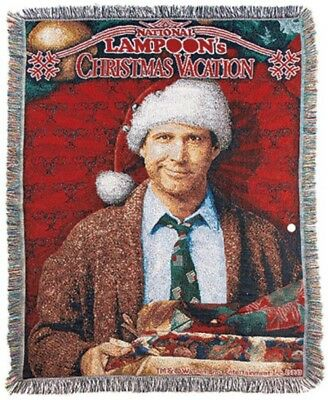 Christmas Vacation Clark Griswold Humor Comedy Novelty Tapestry Throw Blanket