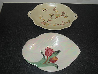 Vintage Shorter & Sons Plates Retro Pottery