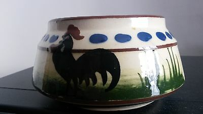 "Devon Torquay Longpark Mottoware Bowl Approx 3.5"" dia Perfect"