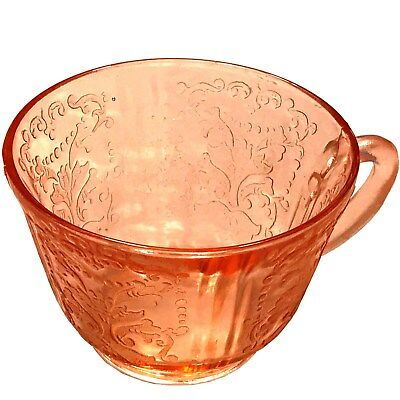 Macbeth-Evans American Sweetheart Glass Pink Coffee Tea Cup Depression Glass