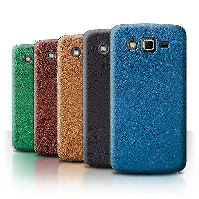 Phone Case/Back Cover for Samsung Galaxy Grand 2/G7102 /Leather Patch Effect