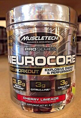 MuscleTech Neurocore Pro Series Pre Workout Pick Size and Flavor *Free Ship*
