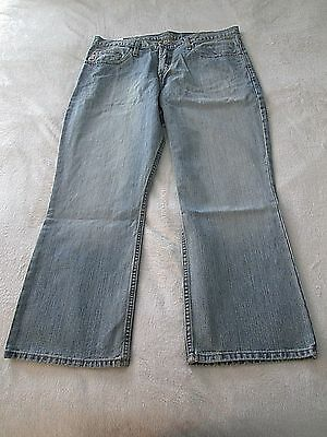 Cinch Mens Dooley Relaxed Fit Light Stone Wash Jeans  NWT