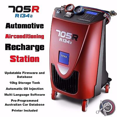 Automotive Air conditioning Refrigerant Recovery and Recharge Station 705R