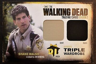Cryptozoic Walking Dead Season 2 Redemption R7 Badge Patch Variant Trading Card